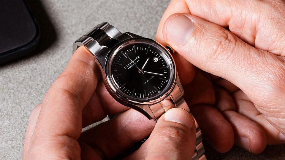 روش تنظیم ساعت مچی دیجیتالی، عقربه ای، آنالوگ و لمسی